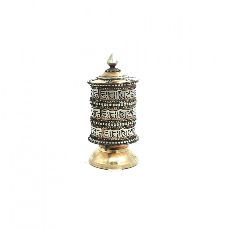 moulin à prières bouddhiste de table