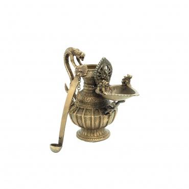 Lampe à Huile Ganesh et ses cinq attributs
