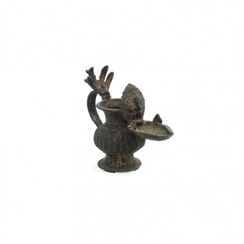 Très belle lampe à huile ancienne Ganesh