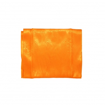 Echarpe tibétaine orange Khata