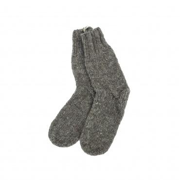 Chaussettes gris brun chiné 38 - 40