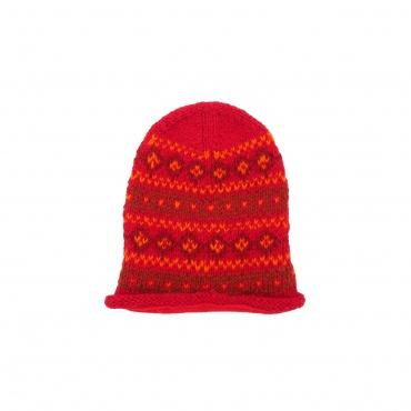 Grand Bonnet rouge orange et bordeaux