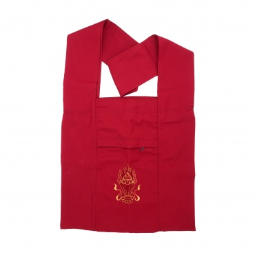 Sac moine tibétain rouge Joyaux