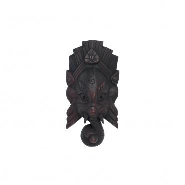 Petit masque de Ganesh, protecteur du foyer