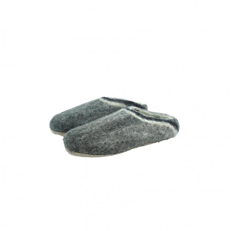Chaussons pantoufles en laine 41