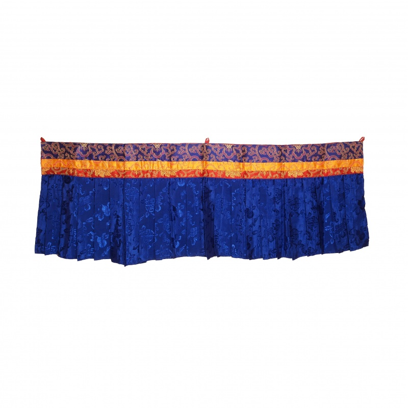Haut de porte tibétaine en tissu