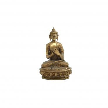 statue Bouddha de l'Enseignement, roue du Dharma