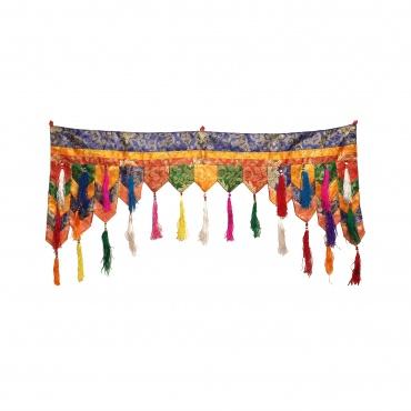 Bandeau de porte tibétain protection et bénédiction