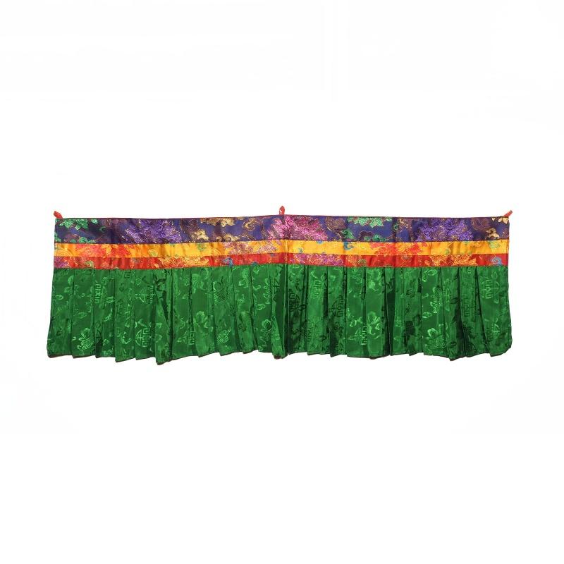 Haut de porte tibétain en tissu - protection