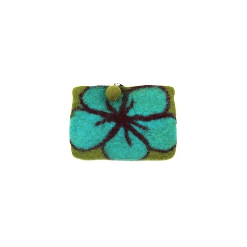 Mini Pochette vert