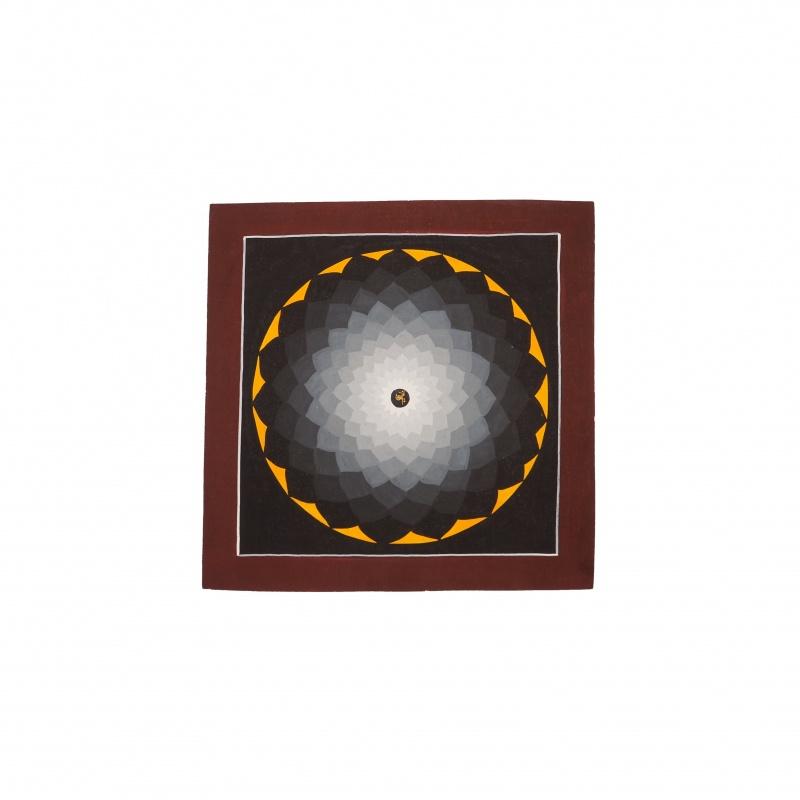 peinture mandala Lotus aux Mille Pétales
