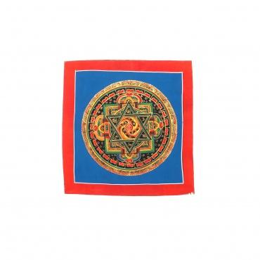 Mandala conque parole de bouddha