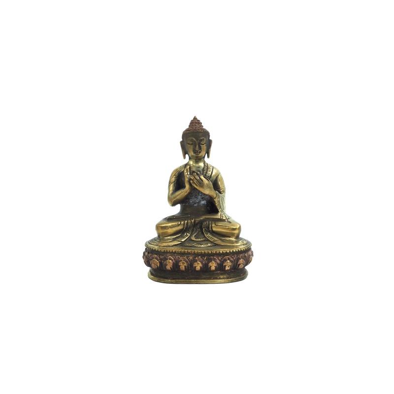 Statue Bouddha mudra de l'Enseignement