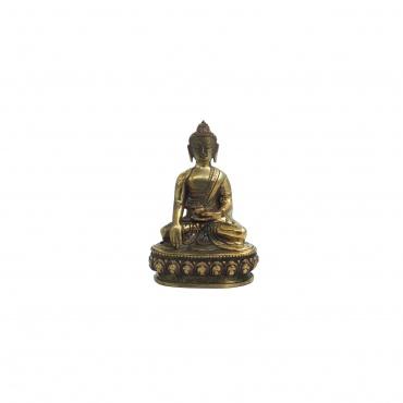 Statue Bouddha mudra prise terre à témoin