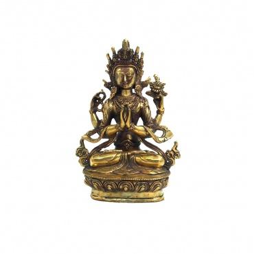 Statue du Bouddha de la Compassion Chenrezig