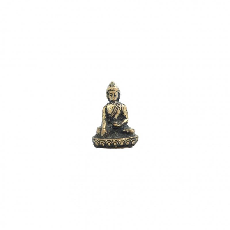 Mini Statue du Bouddha prise de la terre à témoin