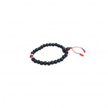 Bracelet tibétain mala en bois