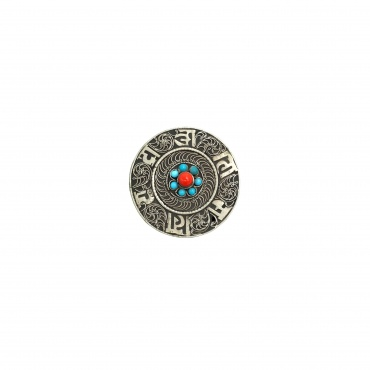 Petite Boîte à bijoux en métal ciselé