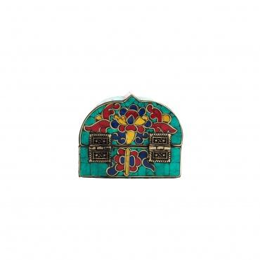 Coffret à bijoux en mosaïque