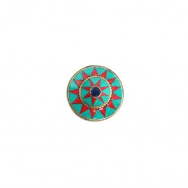 boite écrin à bijoux tibétain bouddhiste