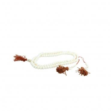 collier Mala blanc et compteurs