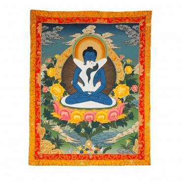 Tangka de Samantabhadra