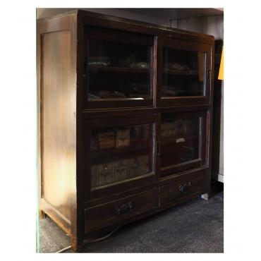 meuble armoire à thé ancienne bois massif