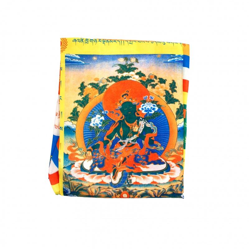Drapeau Tara Verte bouddhiste Tibétain pour mât