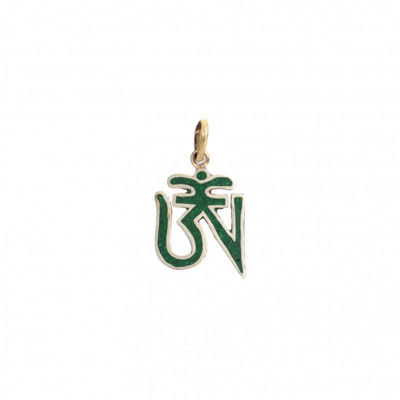 Om tibétain vert