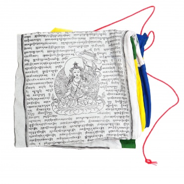 Grand Drapeaux Tibétain 5 éléments pour mât