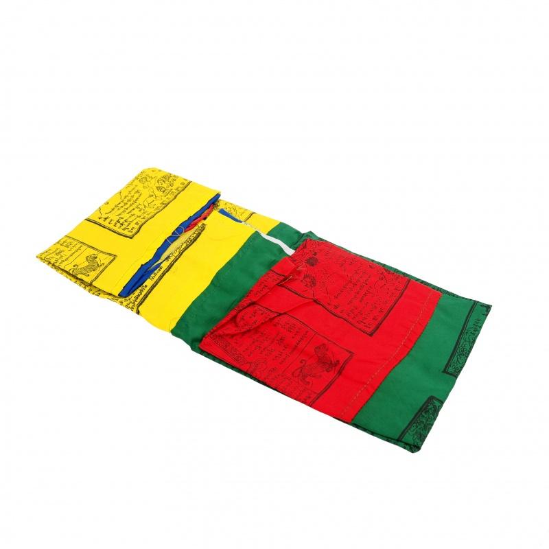 Drapeau Tibétain 5 éléments pour mât