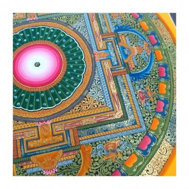 Mandala de lumière