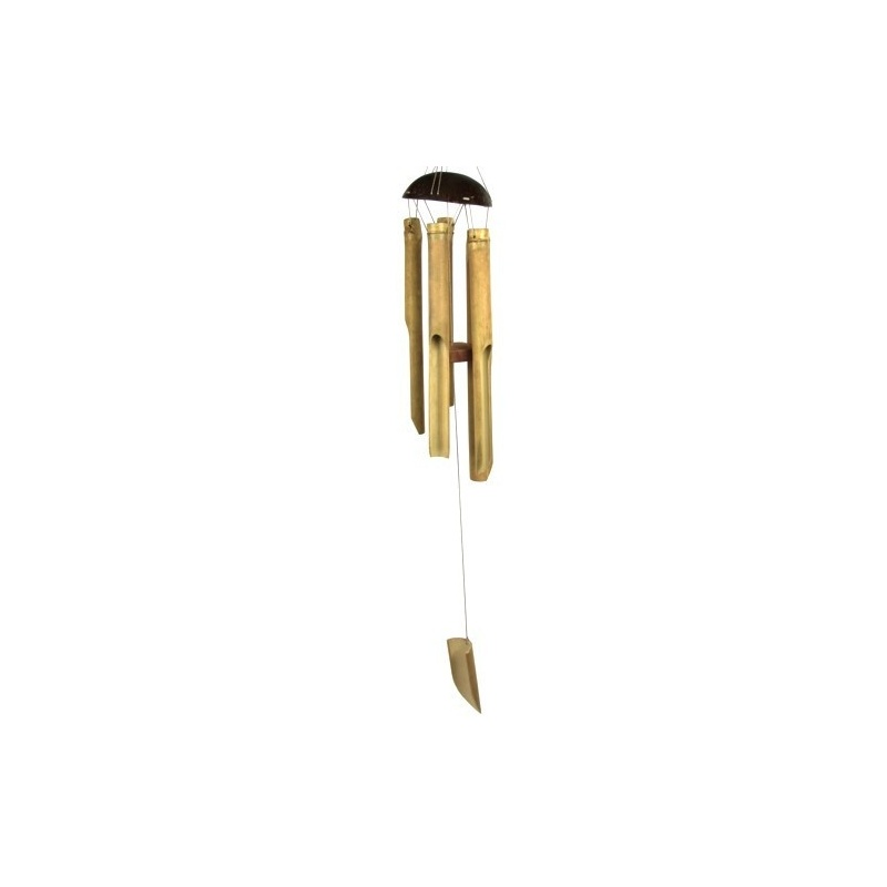 carillon bambou 5 tubes toit du monde. Black Bedroom Furniture Sets. Home Design Ideas