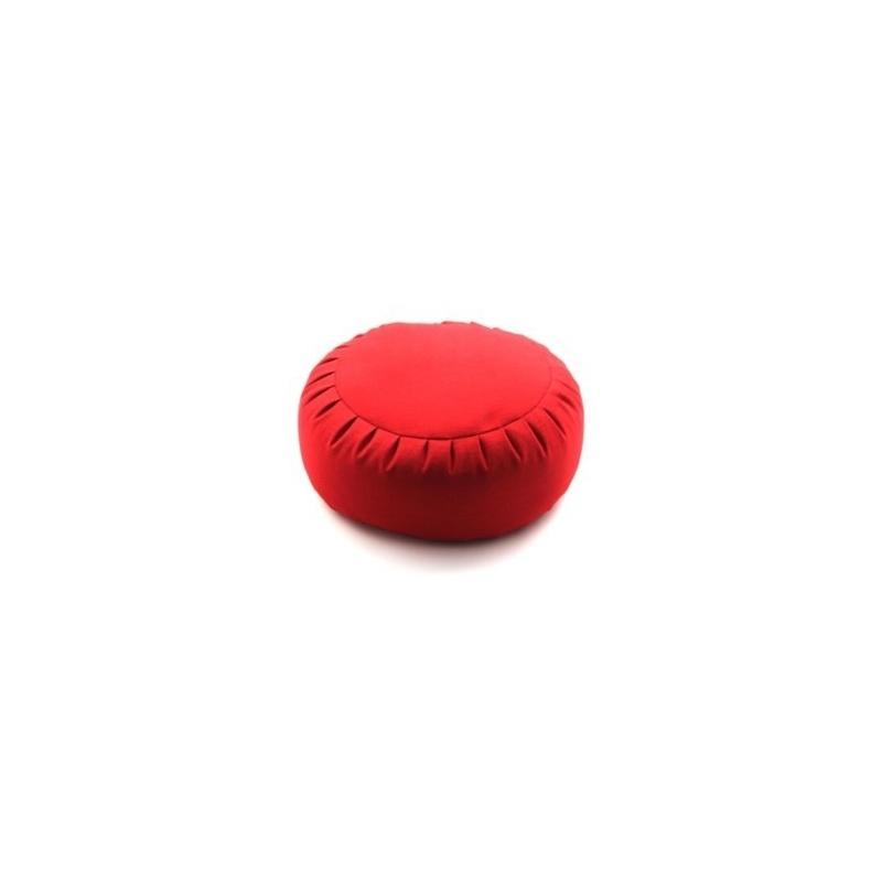 Zafu couleur vermillon - millet