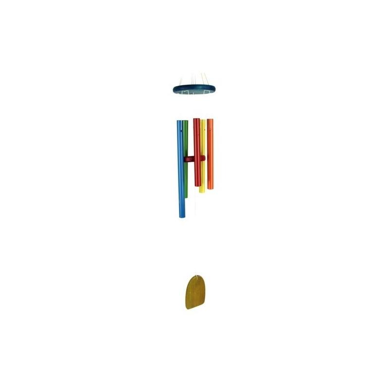 Carillon à vent coloré