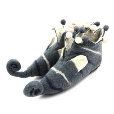 Pantoufles lutin gris 38-39