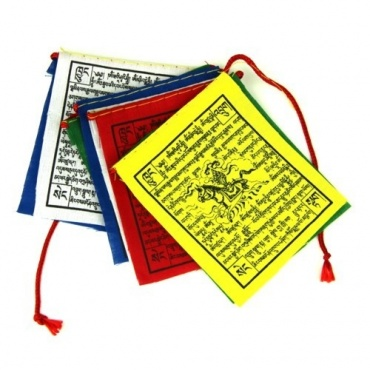 Drapeaux de prières tibétains Extra qualité XXS