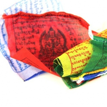Drapeaux de prière tibétain - S