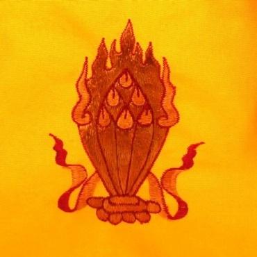 Sac moine tibétain jaune Joyaux