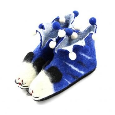 Pantoufles animaux bleu 40
