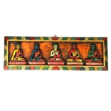 5 Bouddhas - Dhyani Bouddhas