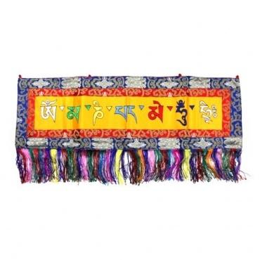 Broderie tibétaine Mani mantra