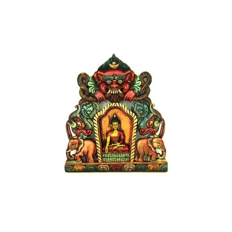 Tableau bouddha protection
