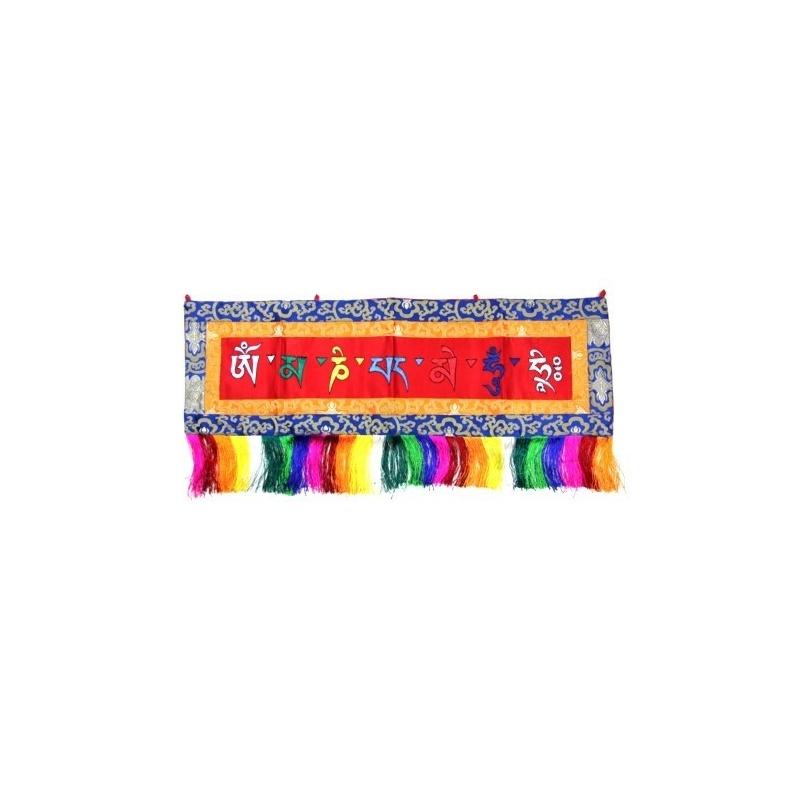 Broderie tibétaine holy mantra