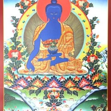 Poster Bouddha de la Médecine