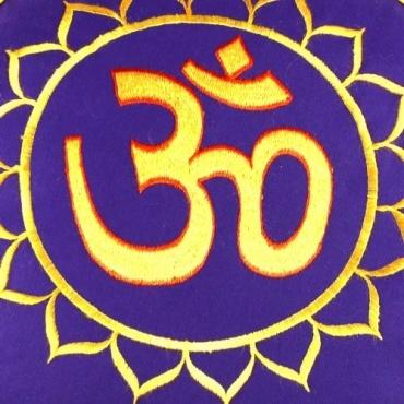 coussin de méditation sarrasin chakra
