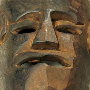Masque primitif himalayen