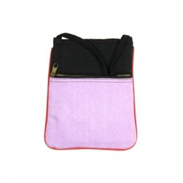 Petit sac multipoche rosé
