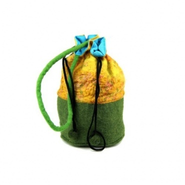 Petit sac - bourse vert