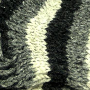 Chaussettes en laine naturelle